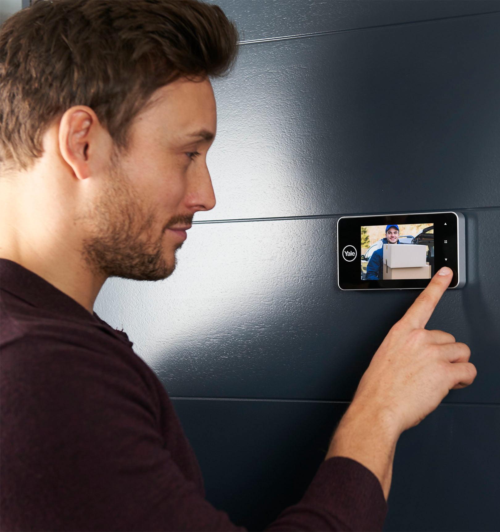 Digitale deurspion Yale